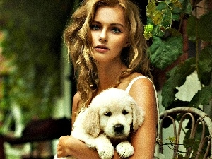 Women, doggy, Blond